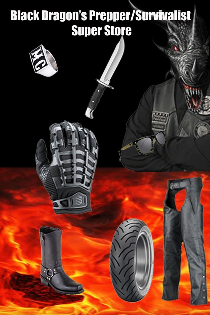 Shop at the Black Dragon Amazon Prepper Super Store!