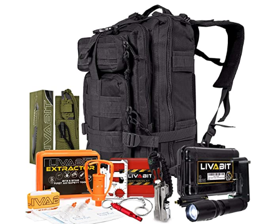 LIVABIT SOS 3 day bugout backpack